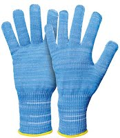 Cut protection glove for food processing